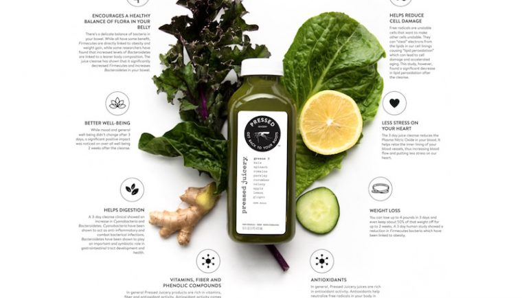 Pressed Juicery benefits