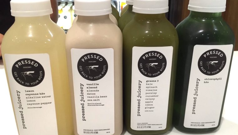 Pressed Juicery selection