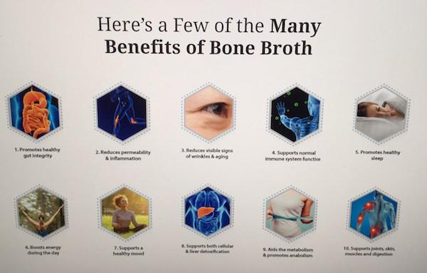 Benefits of bone broth