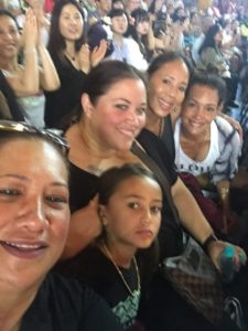 In the crowd at Merrie Monarch