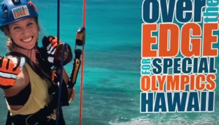 Over the Edge with Special Olympics